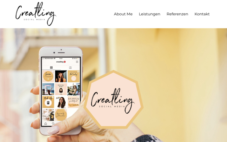 Creatling - Kunde von Webdesign Timo Klein