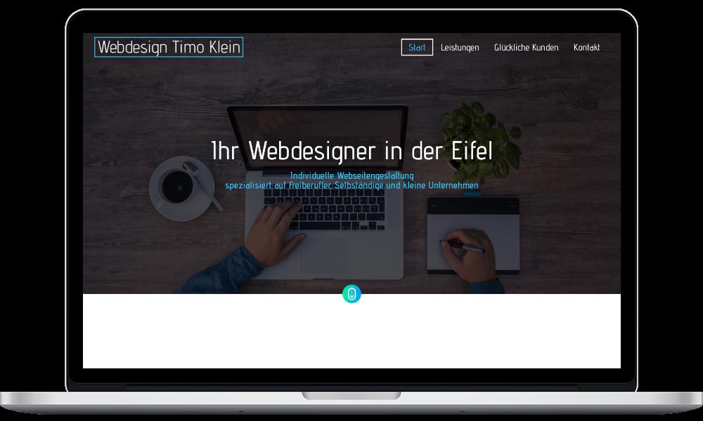 Leistungen - Webdesign Timo Klein